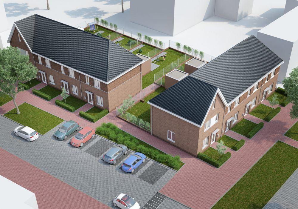 8 woningen Karel Doormanstraat Hasselt