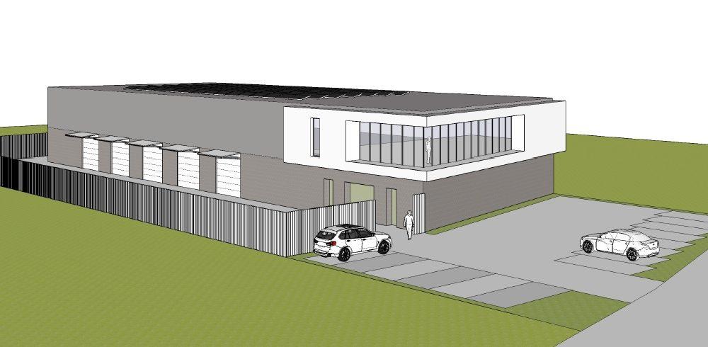Bouwopdracht voor de nieuwbouw van een bedrijfshal te Almere