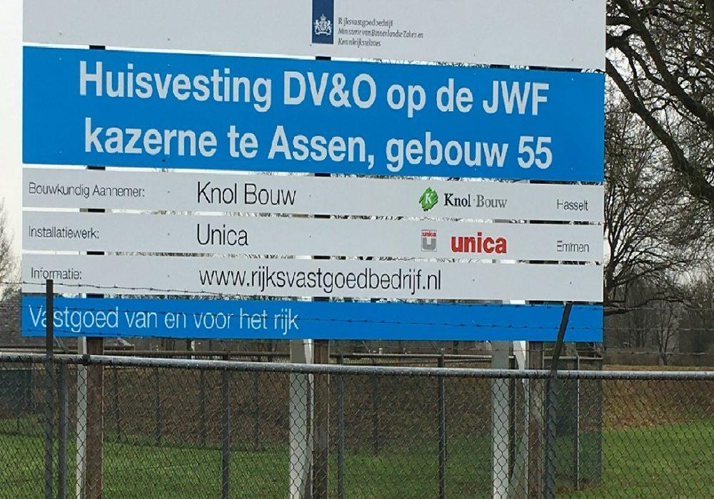 Opdracht verbouw Johan Willem Friso kazerne te Assen