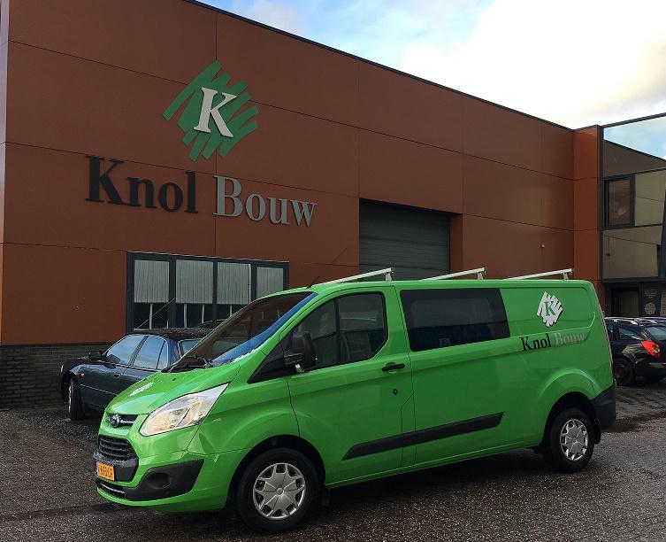 Nieuwe bedrijfsauto Knol Bouw