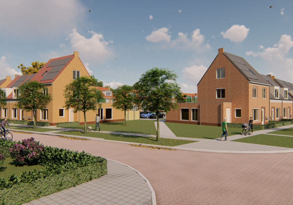 Opdracht voor 19 woningen in Vollenhove!