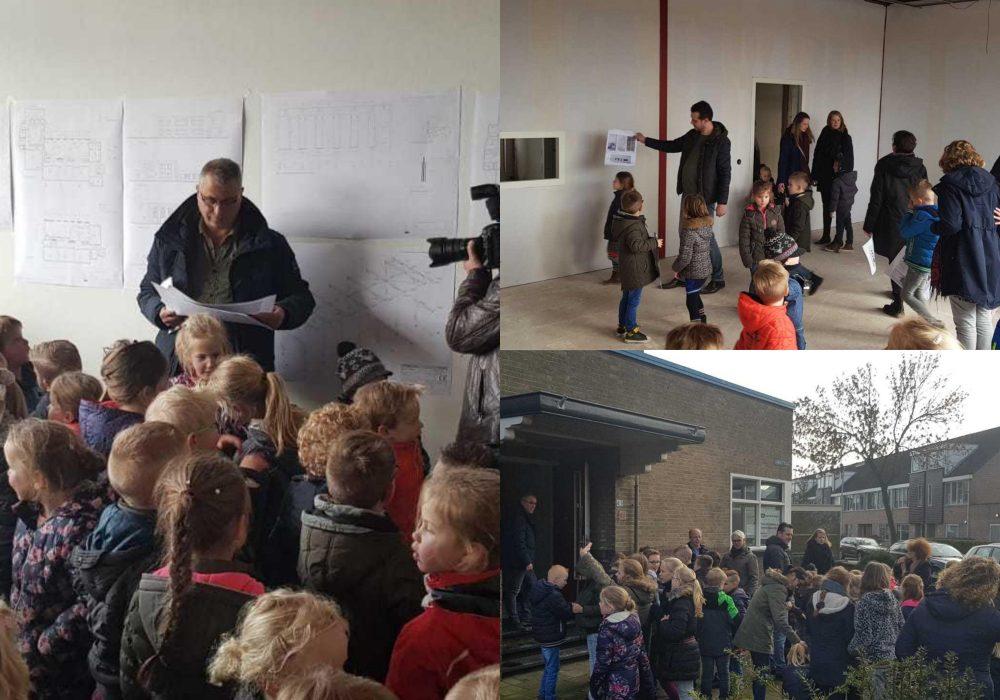 bouwkijkdag op de Calvijnschool in Meppel