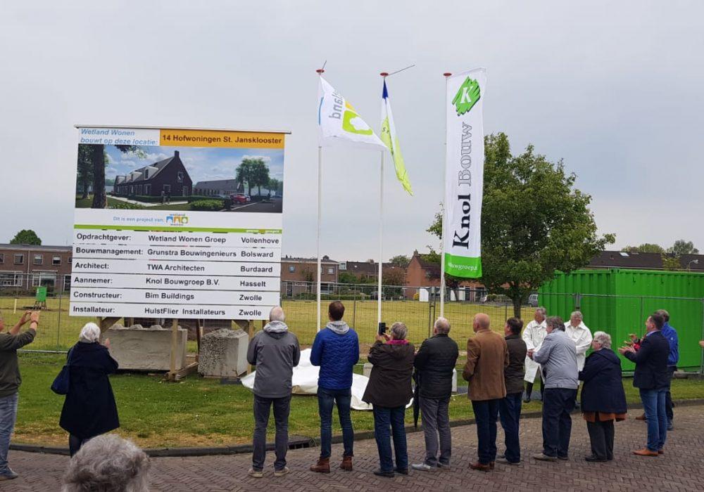 Nieuwbouw 14 hofwoningen Sint Jansklooster