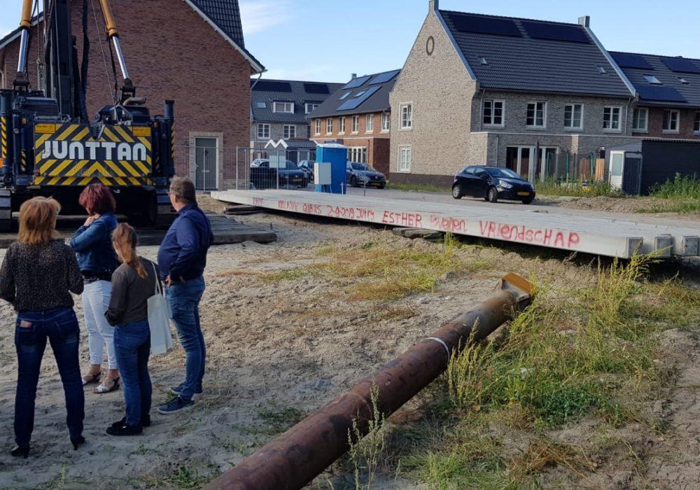 1e paal 3 appartementen Almere